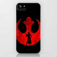 Star Wars Princess Leia in Red  Slim Case iPhone (5, 5s)