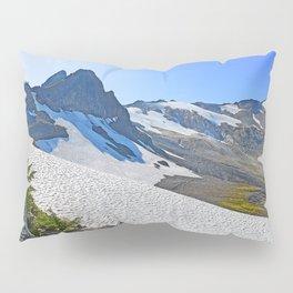 SUMMER'S LAST SNOWMELT WATER Pillow Sham