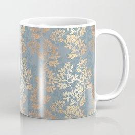 Gold Leaf Tangles Coffee Mug
