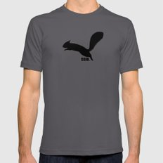 SQRL ™  // squirrel LARGE Asphalt Mens Fitted Tee