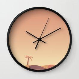 Minimalist Poster City Wall Clock