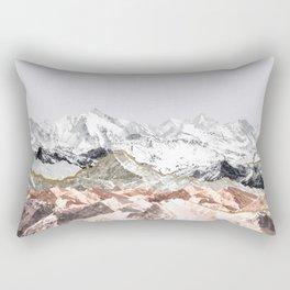 Pastel Mountains I Rectangular Pillow