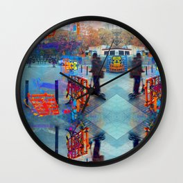 Akin to recalling, instead; understood mimicry. 13 Wall Clock