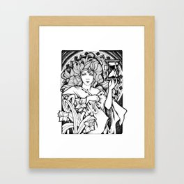 Time Passes Framed Art Print