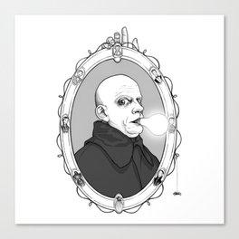 Uncle Fester Canvas Print