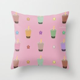 Bobalicious Throw Pillow