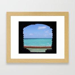 Ocean Portal Framed Art Print