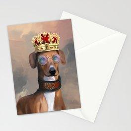 King Azawakh Stationery Cards