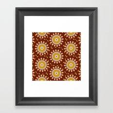 Now - Kaleidoscope  Framed Art Print