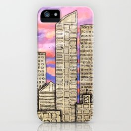 City at Sunset iPhone Case