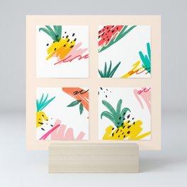 Floral Abstract Mini Art Print