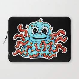 Tentacle Warty Slime Monster Laptop Sleeve
