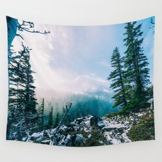Overlook the Wilderness Wall Tapestry
