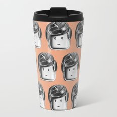 Minifigure Pattern - Hot Travel Mug