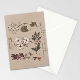 Flowering Spring Trees Stationery Cards