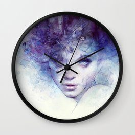 Aerial Wall Clock