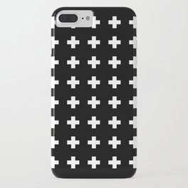 Swiss Cross Black iPhone Case