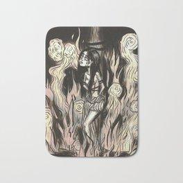Burn the witch! Bath Mat