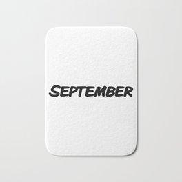 September Bath Mat