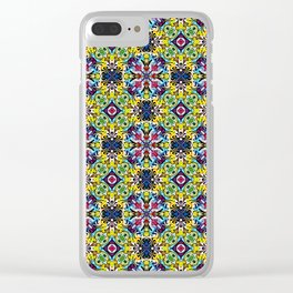 Native American Fashion Pattern Nine Clear iPhone Case