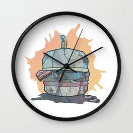 Robo-Burger Wall Clock