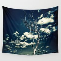 breathe Wall Tapestries featuring BREATHE by Steffen Remter