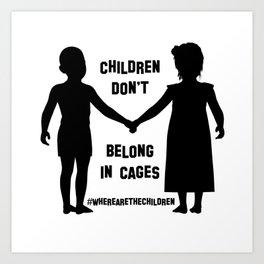 Where Are The Children? Art Print