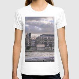 Seine wharf, Paris, France T-shirt