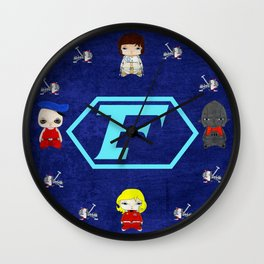 A Boy - Captain Future (Capitaine Flam) Wall Clock
