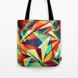 Broken Rainbow Tote Bag