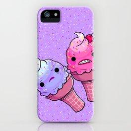 Super Emotional Icecream iPhone Case