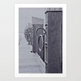 Geelong Pier Art Print