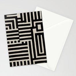 Optical Maze Stationery Cards