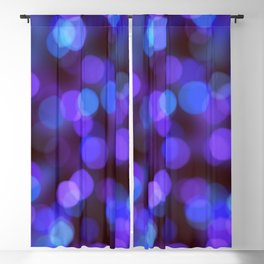 Bleu violet background | fond bleu violet Blackout Curtain