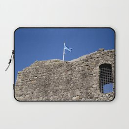 Flag Upon The Castle Laptop Sleeve