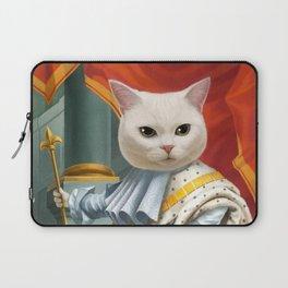 Cat King Laptop Sleeve