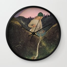 Mineral Spring Wall Clock