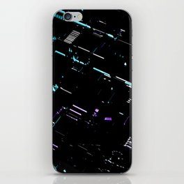 Engineering Technology Industry Background for Electronic Pattern iPhone Skin