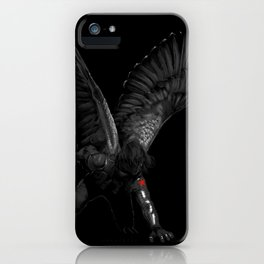 winged winter soldier iPhone Case