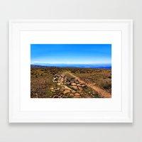 utah Framed Art Prints featuring Utah by Chris Root