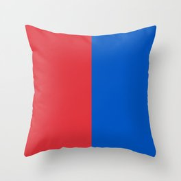Two Sides of New Harley Quinn Throw Pillow
