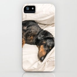 Dog by Jessica Johnston iPhone Case