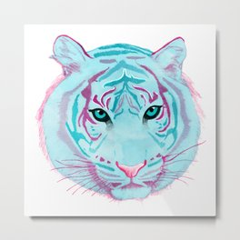 Tyger, Tyger, Burning Blue Metal Print