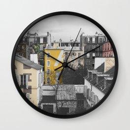 Paris I (Tags) Wall Clock