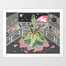 sci fi Art Print