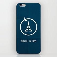 Midnight in Paris Minimalist iPhone & iPod Skin