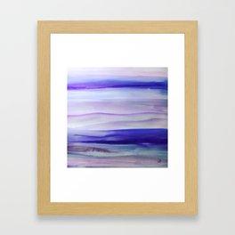 Purple Mountains' Majesty Framed Art Print