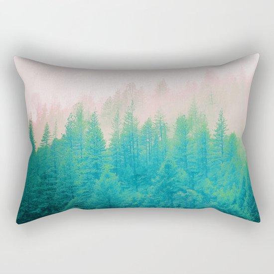 Forest Fog V2 #society6 #decor #buyart Rectangular Pillow