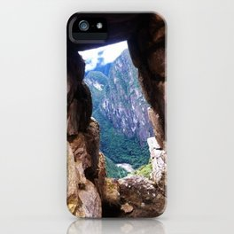 An Ancient Window From Machu Picchu iPhone Case