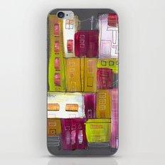 Pink Village iPhone & iPod Skin